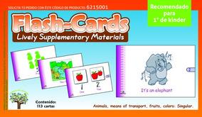 Material Cards Recomendado 3 Didáctico Inglés Niños Flash qSzUVpM