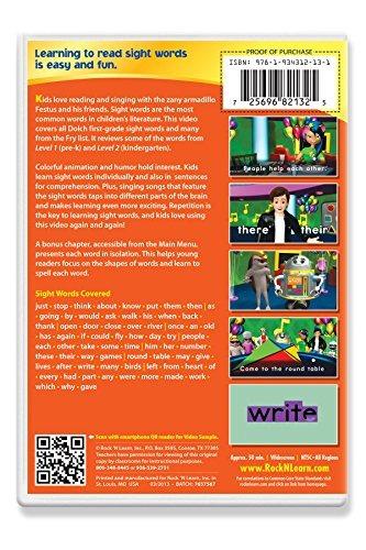 material didáctico,palabras de vista 3-dvd..