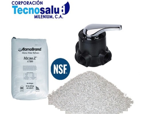 material filtrante para eliminar residuo del agua