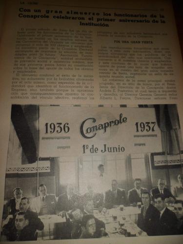 material historico conaprole el comienzo 1937   la leche