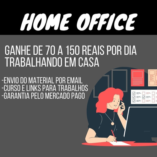material home office (curso e links para trabalhos )