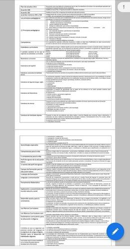 material para admisión y promoción en educación básica
