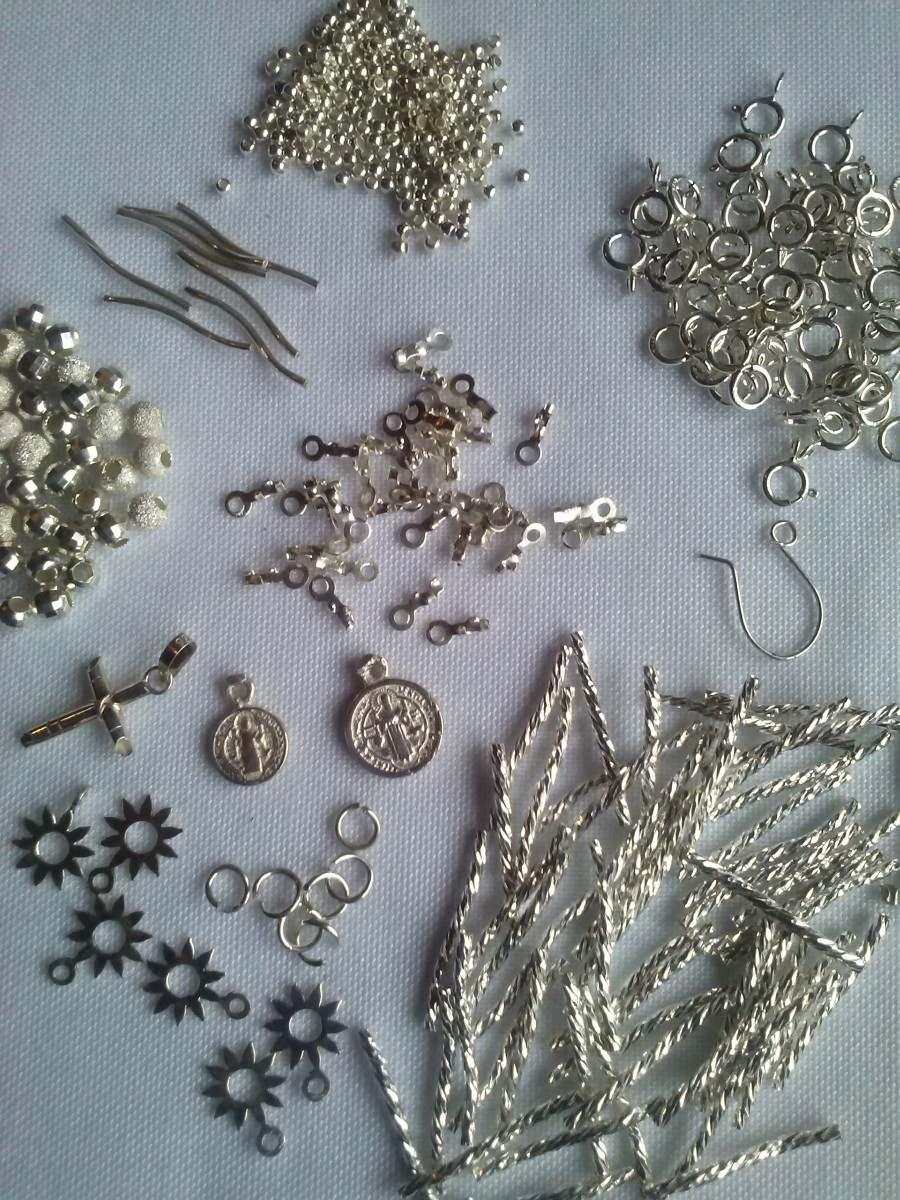 Material para armar joyeria en plata fina taxco op4 en mercado libre - Cuberterias de plata precios ...