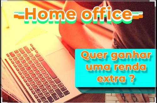 material para home office (renda extra, trabalhe em casa)