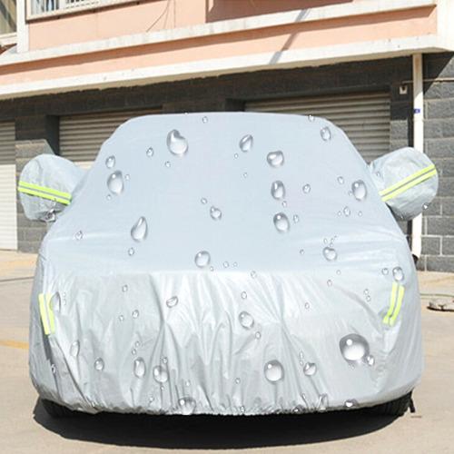material pe anti-polvo prueba agua sunproof cubierta sedan
