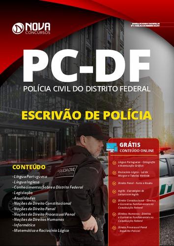 material policia civil pc df 2020 escrivão polícia