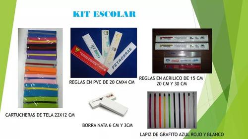 material pop cooler bolígrafos bolsas carnets vasos cintas