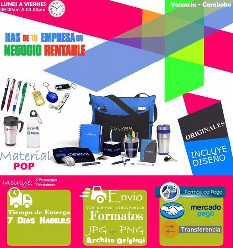 material pop llaveros boligrafos calendarios publicidad
