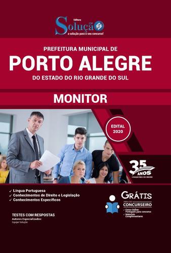 material prefeitura porto alegre rs 2020 monitor