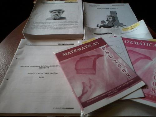 material psu física preuniversitario pedro de valdivia 2011