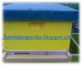 materiales apicolas - cajones de abejas