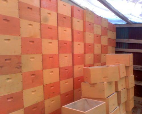 materiales apicolas, cajones de abejas, camaras de cria