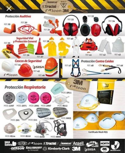 materiales de seguridad industrial epp