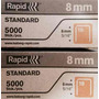 Grapas De 8mm 5/16 Marca Rapid Standard De 5000 Pza 19-8