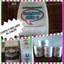 Etiquetas Personalizada 1,5o2.5x8 F.blanco Cortadas Al Calor