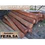 Postes De Eucaliptus Colorado 2.20mt. 20 Años De Durabilidad