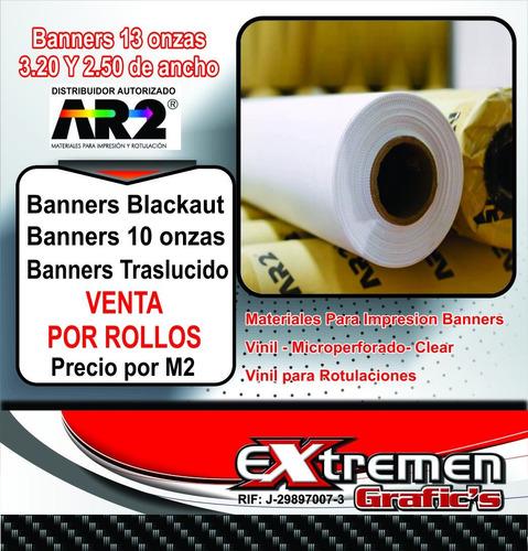 materiales para impresion banners 10 y 13lona, vinil micro