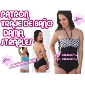 39d693dd1 Patrones De Trajes De Baño De Mujer en Mercado Libre Venezuela
