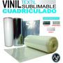 Vinil Sublimable Cuadriculado