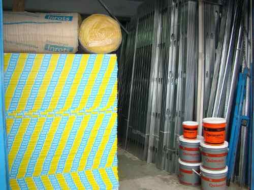 materiales x m² para  cielorraso placa de yeso  knauf