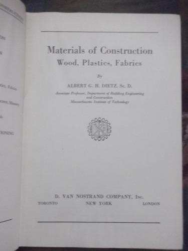 materials of construction albert dietz 1949