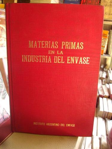 materias primas en la industria del envase