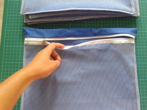 maternidade - kit 8 saquinhos organizadores de mala