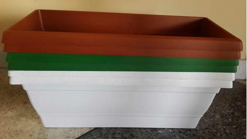 matero rectangular para jardinería