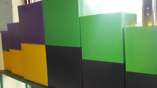 materos acrilicos colores varios juego de 3 piezas resistent