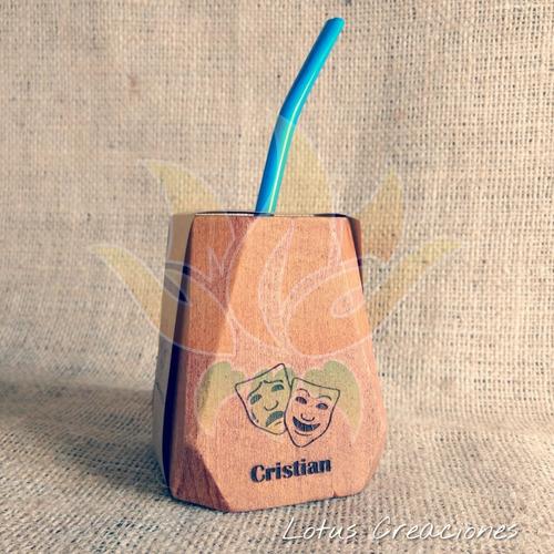 mates geométricos 100% personalizados-grabado láser madera-