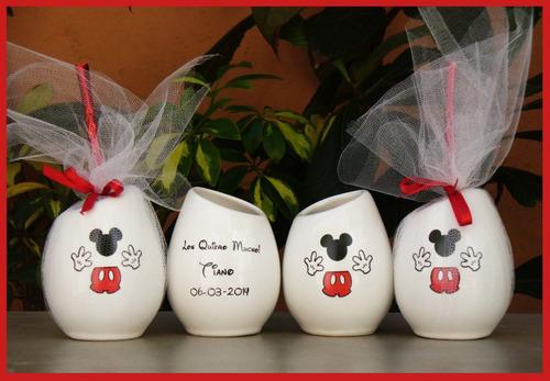 mates tazas personalizados cumpleaños mickey minnie y mas!!!