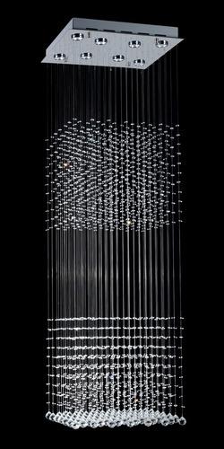 mather doble de 6 luces de led de cristal envío gratis