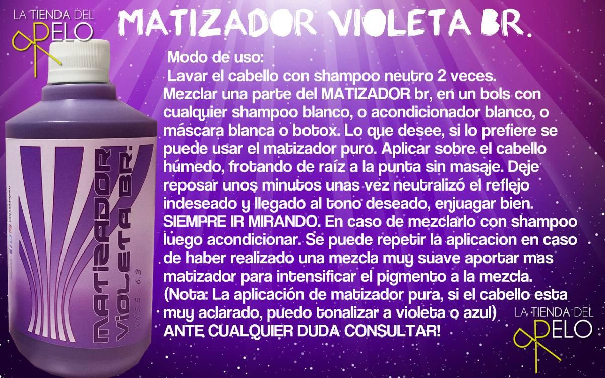 matizador violeta + azul rinde hasta 120 aplicaciones! Cargando zoom. 053b675770d0