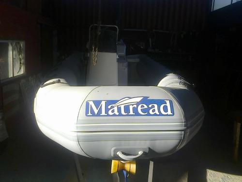 matread 5,35  mts con mercury 60 hp 4 tiempos leer aviso