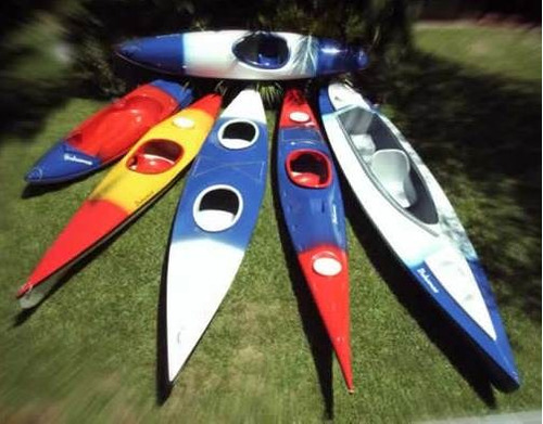 matrices de kayaks