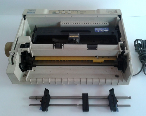 matricial epson lx-300 (liga,mexe cabeça,bipa) retirar peças