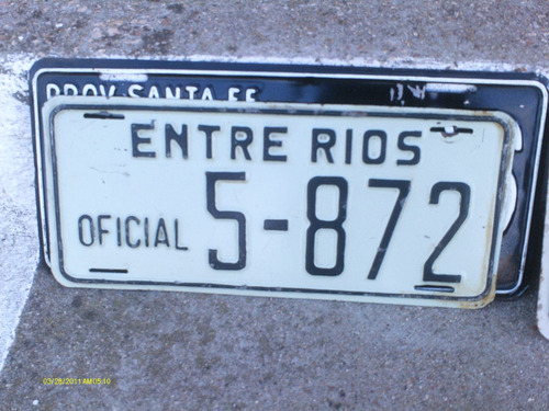 matricula antigua de argentina