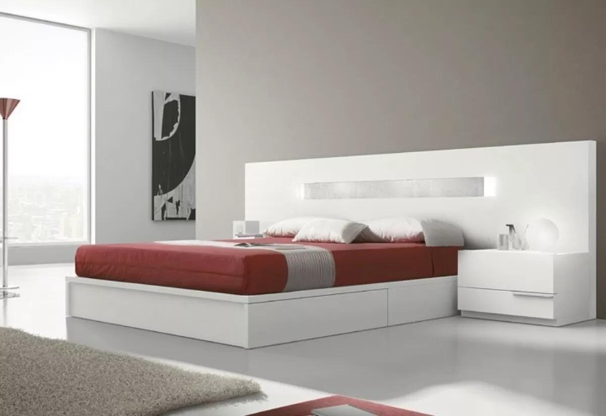 Cama matrimonial juego de cuarto dormitorio de lujo for Modelos de dormitorios matrimoniales