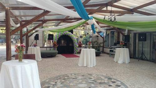 matrimonios aire libre, salón, atención empresas y part