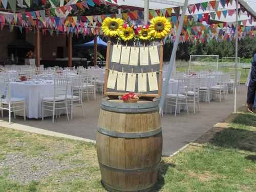 matrimonios , celebraciones camprestres y eventos empresas