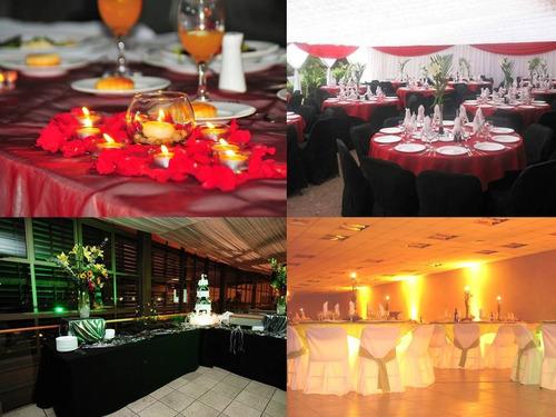 matrimonios,eventos,fiestas empresas,,graduaciones,banquetes