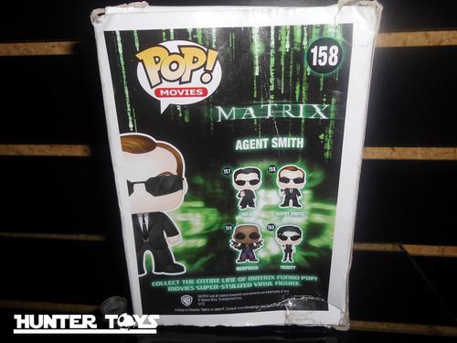 matrix, agente smith, hermosa figura funko pop, nuevo!!!