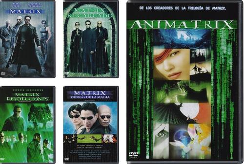 matrix pentalogia 5 peliculas boxset dvd