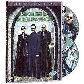 matrix reloaded dvd duplo