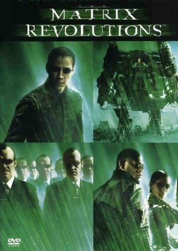 matrix revoluciones pelicula dvd