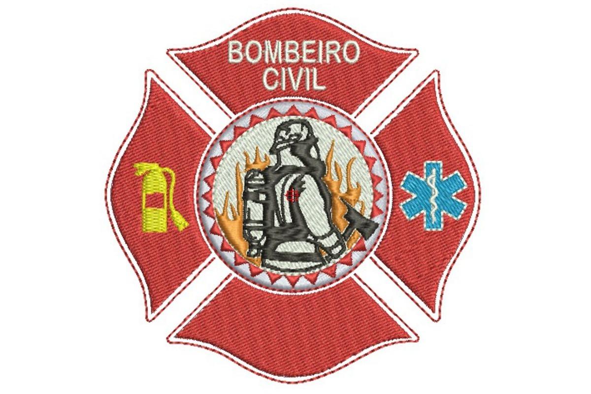 matriz bordado computadorizado bombeiro civil 001. Carregando zoom. 533f0580c04