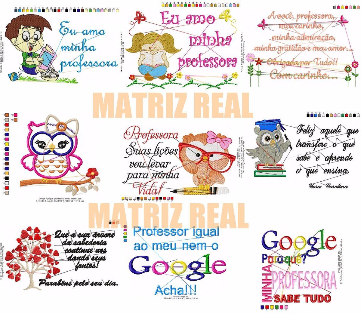 Matriz De Bordado 41 Matriz Para Dia Dos Professores Frases R 17