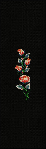 matriz de bordado      bca3660 ramo de flores para toalhas