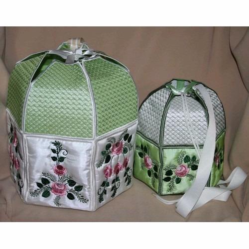 matriz de bordado bolsa bordada com rosas bc5510