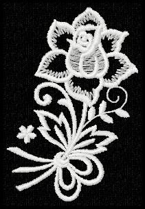 matriz de bordado lace tule renda guipure bc5214